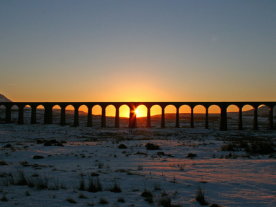 Sunset at Ribblehead